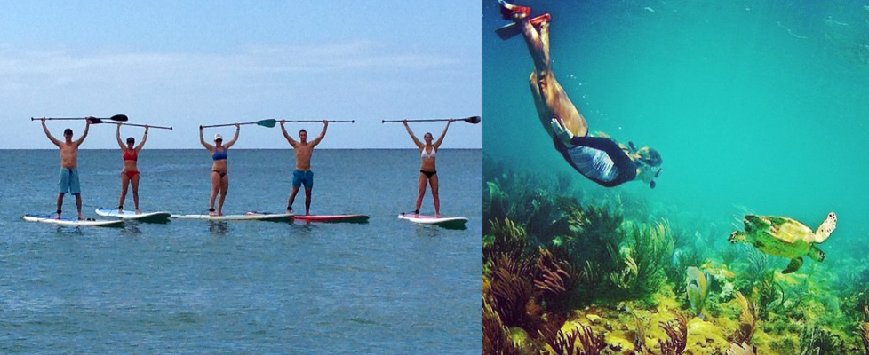 SUP and Snorkel