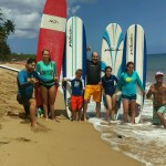 Learn to surf in Rincon, Puerto Rico.