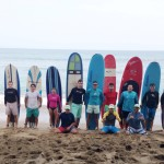 Wedding Party Turned Surf Party!