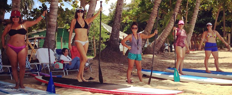 PaddleBoarding in Rincon