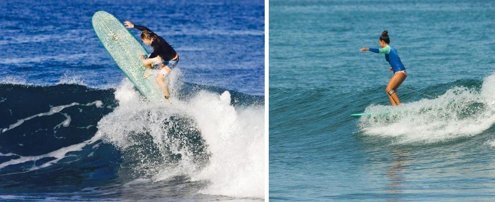 surfing in rincon