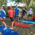 Take the family surfing with rincon surf lessons from Rincon Paddle Boards.