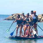 Multi-Person Giant SUP in Rincon Puerto Rico - Big Red.
