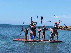 Giant Stand-Up Paddleboard in Rincon Puerto Rico.