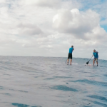 Surf SUP - Learn to Surf on a Stand-Up Paddle Board in Rincon, Puerto Rico.
