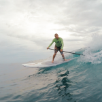 Surf SUP - Learn to Surf on a Stand-Up Paddle Board with Rincon Paddleboards.