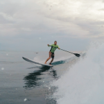 Paddle Board Surfing Lessons in Rincon, Puerto Rico.