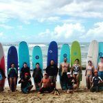 Everyone has fun with surf lessons from Rincon Paddle Boards!