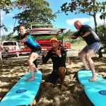 Surf lessons in Rincon, Puerto RIco.