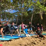 Learning to surf in Rincon, Puerto RIco is fun!