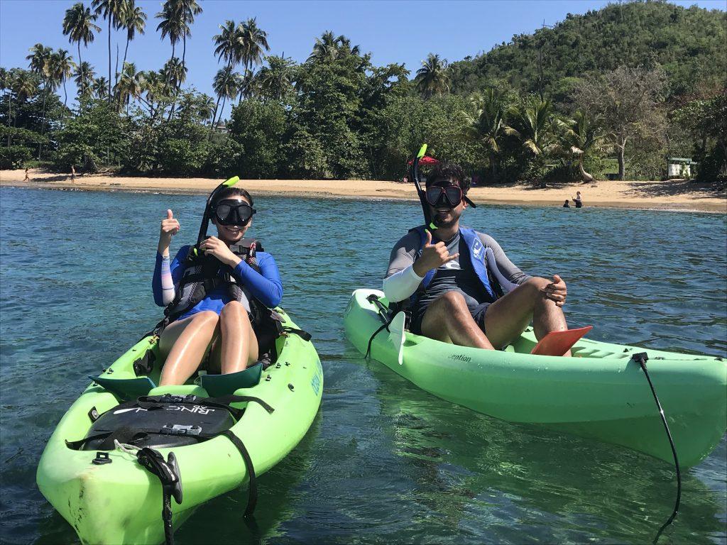 Kayak Tours in Rincon, Puerto Rico.