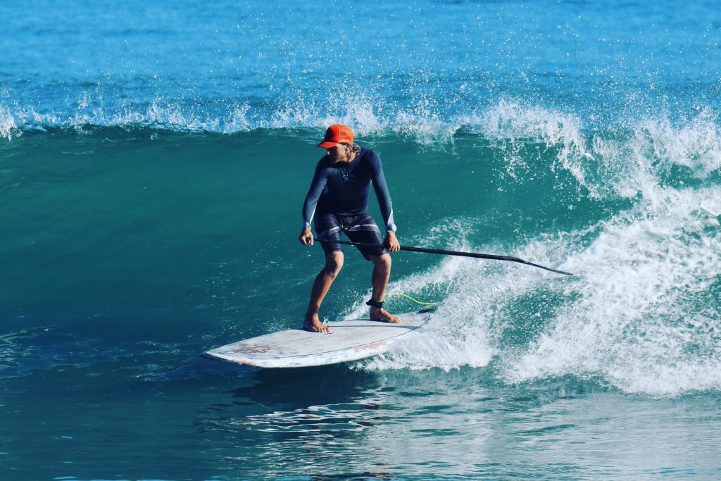 Learn to SUP Surf in Rincon, Puerto Rico.