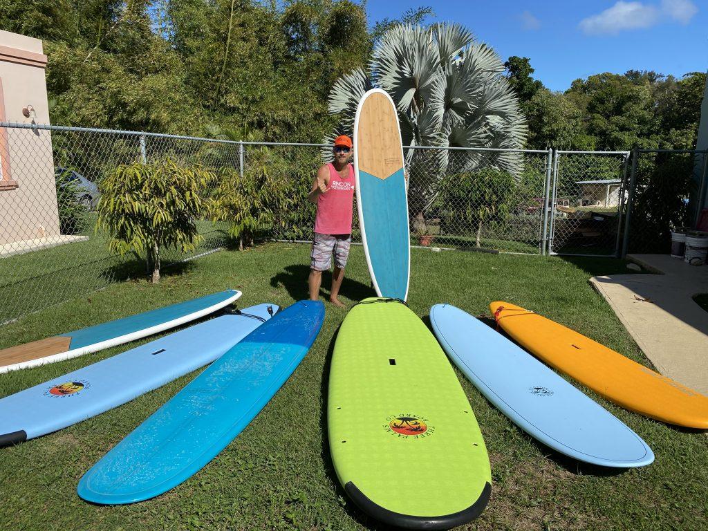 Surfboard Rentals in Rincon, Puerto Rico